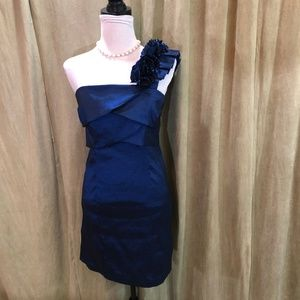 💙💙Alyn Paige Stunning ROYAL BLUE COCKTAIL DRESS